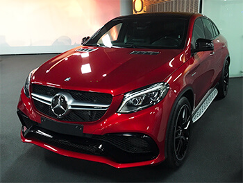 gle 63 amg s coupe in rot