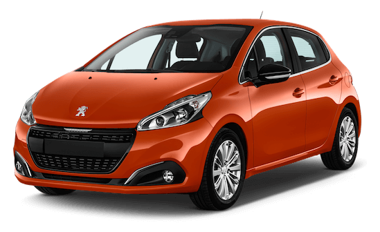 peugeot 208 frontansicht
