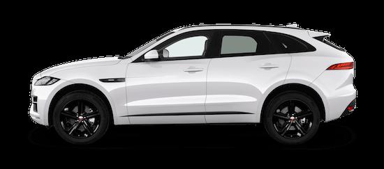 jaguar f pace seitenansicht