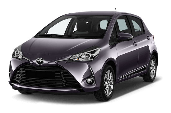 toyota yaris frontansicht