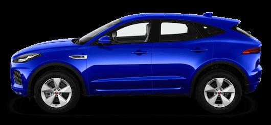 jaguar e pace seitenansicht