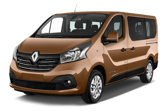 renault trafic combi frontansicht