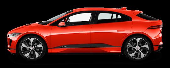 jaguar i pace seitenansicht
