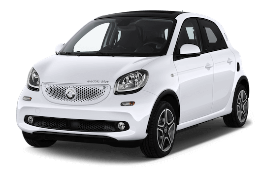 smart forfour frontansicht