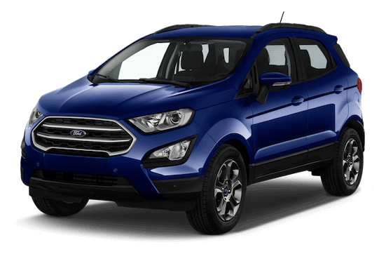 ford ecosport frontansicht