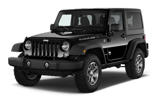 jeep wrangler frontansicht
