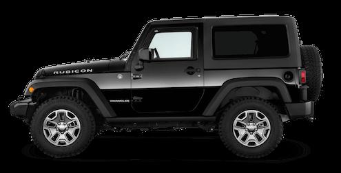 jeep wrangler seitenansicht