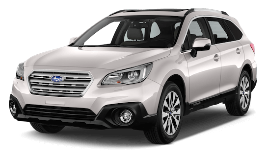 subaru outback frontansicht