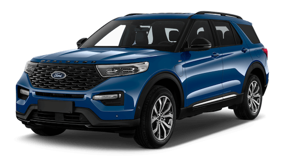 ford explorer frontansicht