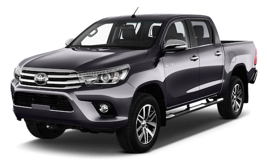 toyota hilux frontansicht