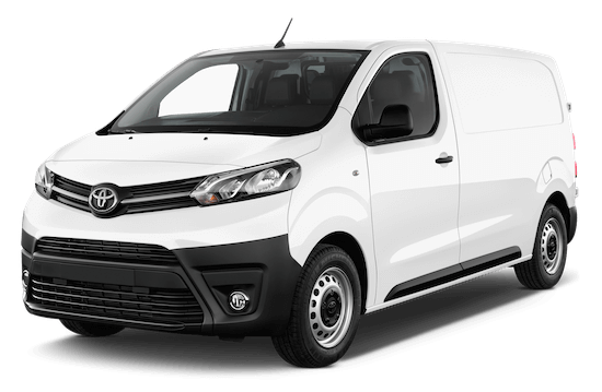 toyota proace frontansicht