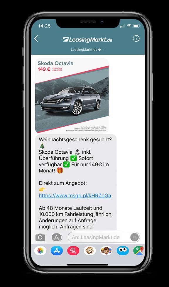 LeasingMarkt.de WhatsApp Service