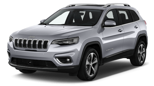 jeep cherokee frontansicht