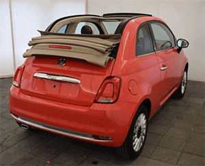 Cabrio Version des Fiat 500
