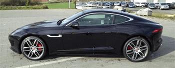 schwarzer jaguar f-type