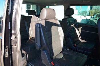 Rücksitze im T6 Multivan