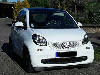 smart fortwo weiss